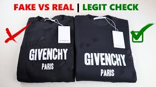 Real vs Fake Givenchy Sweatshi…