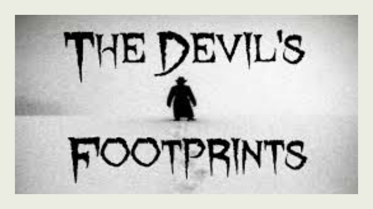 The Devils Footprints