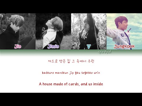 BTS - Outro: House Of Cards (Color Coded Han|Rom|Eng Lyrics) | by Yankat