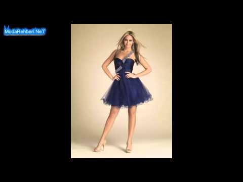 41d0452591141 Kısa abiye elbise modelleri 2019 - 2020 - YouTube