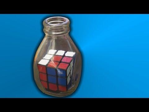 Impossible Rubik's Cube in a Bottle