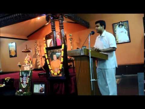 Bhagawan Sri Sathya Sai Baba's Vision & Mission - Aravind Balasubramanya