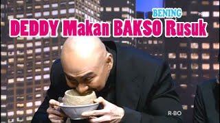 Maknyus!! DEDDY Makan Bakso Sampek Gini wkwkwk - Hitam Putih 6 Juni 2017