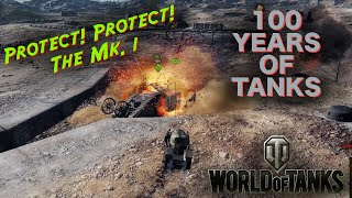 World of Tanks - 100 Yrs. of Tanks! - Mk.1 CONVOY GAME MODE