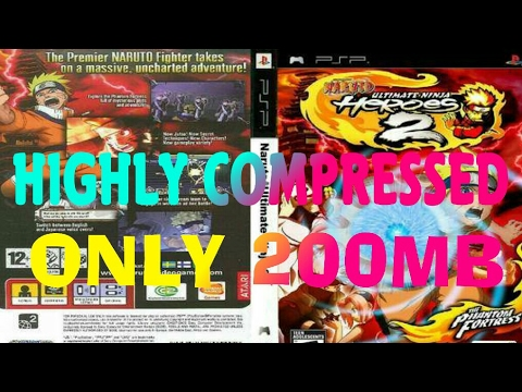 [200MB] Download Naruto Ultimate Ninja Heroes 2 Highly Compressed For PPSSPP On Android