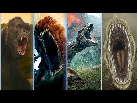 Top 10 Monster Roars ll 2020