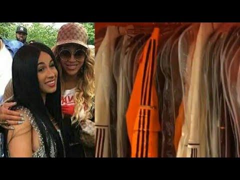 Beyonce Presenteia Cardi B Com Roupas Da Sua Colecao Adidas X Ivy Park