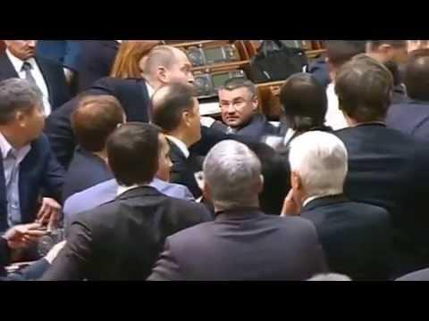 """New fighting in the Supreme Council of Ukraine! """"Ljashko, come here""""!"""