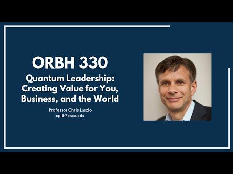 ORBH 330 - Quantum Leadership