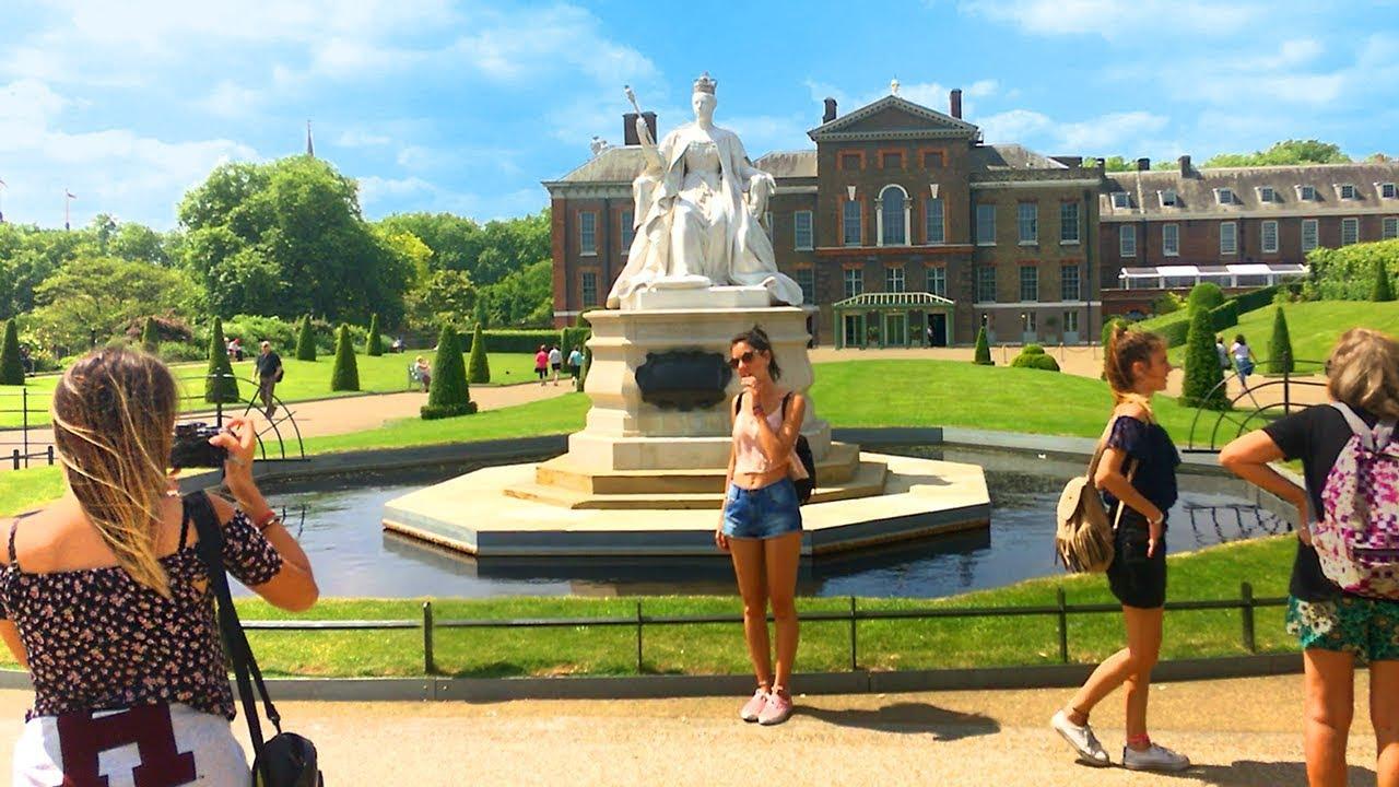 Garden Walk London: Kensington Palace And Gardens Incl. Broad Walk