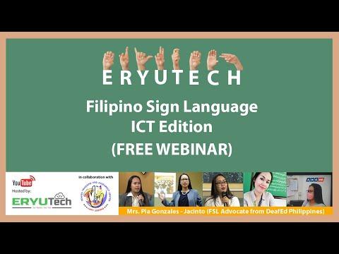 Filipino Sign Language - ICT Edition
