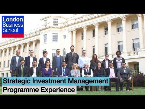 Strategic Investment Management: Programme Experience l London Business School