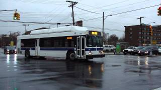 MTA Bus Company: New Flyer C40LF #206 Not In Service @ Parsons Boulevard and Union Turnpike!