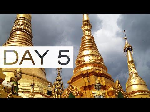 EXPLORING YANGON | Day 5 | GoPro Hero4 Black