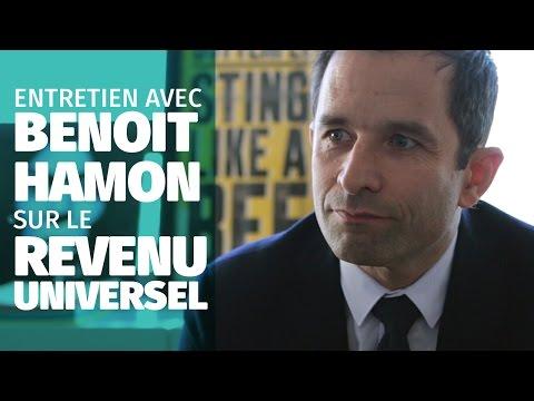 Entretien avec Benoît Hamon : le revenu universel