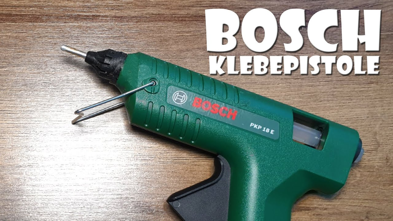 unboxing: bosch pkp 18 e heißklebepistole - hot glue gun - youtube