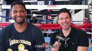 """DOMINIC BREAZEALE """"WILDER GONNA HAVE TO GO THRU ME TO GET TO ANTHONY JOSHUA!"""""""