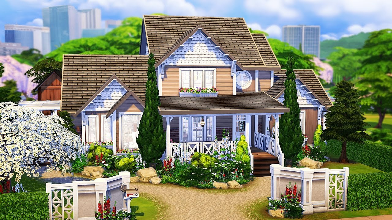 GENERATIONS FAMILY HOME 💗 | The Sims 4 | Speed Build