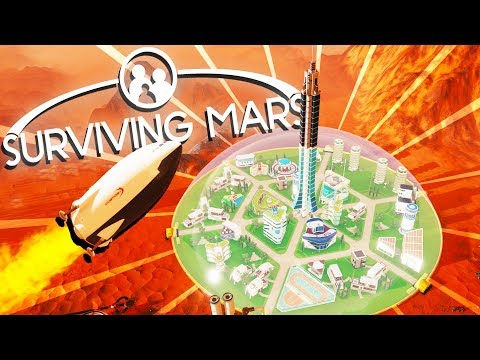 Landing Rockets and Harvesting Resources! - Surviving Mars Gameplay