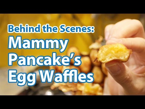 Behind-the-Scenes: Michelin-Recommended Mammy Pancake's Egg Waffles