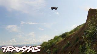 Massive Dirt Jumps | Traxxas E-Revo Brushless