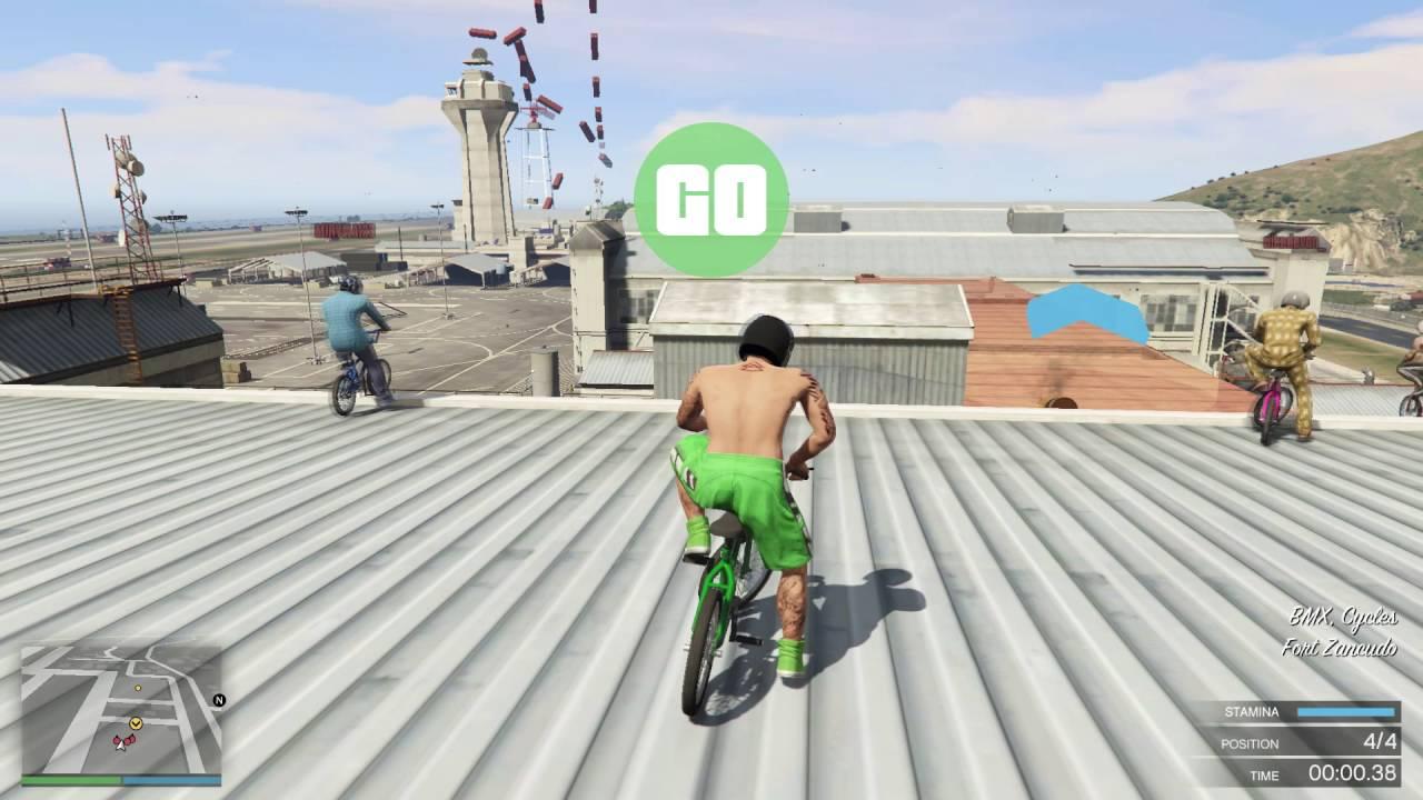 GTA 5 Online ქართულად | BMX ექსტრემალური რბოლები [LP #25]