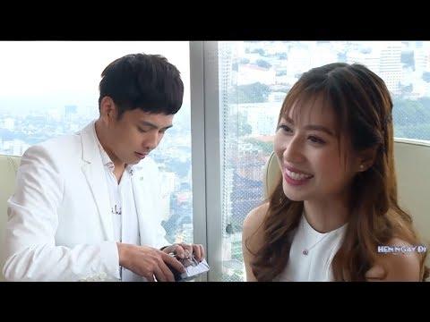 """Hồ Quang Hiếu hẹn hò cùng nữ tiếp viên hàng không trong chương trình """"Hẹn Ngay Đi"""""""