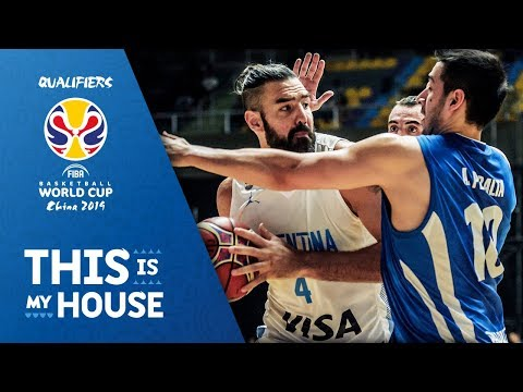 Luis Scola 22 PTS / 11 REB vs Paraguay - FIBA Basketball World Cup 2019 - Americas Qualifiers