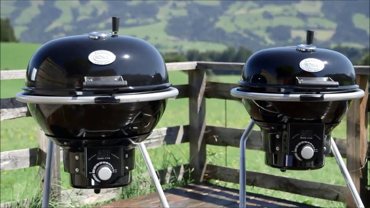 Rösle Gasgrill F60 : Der holzkohle kugelgrill mit air control system: rÖsle no.1 air f50