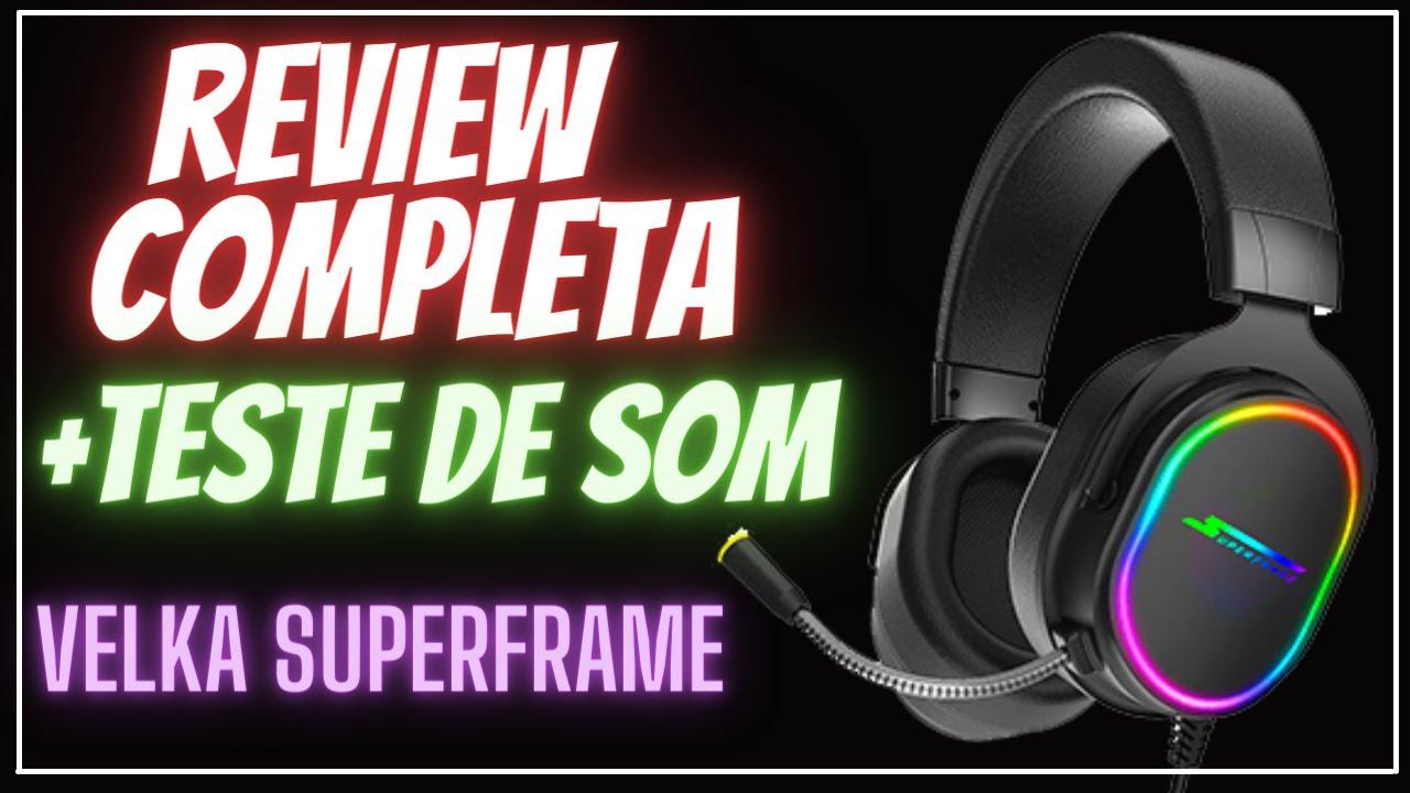Headset Gamer Velka SF-H01 Superframe