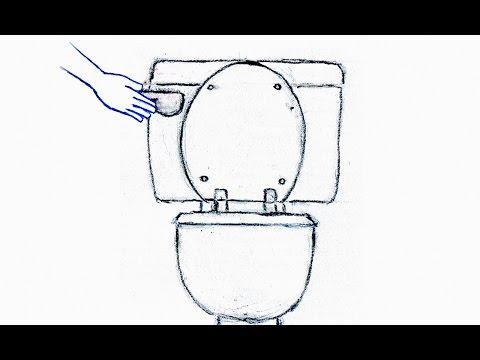 水洗トイレを流す音 2(録音 効果音) Flush Toilet 2 (Recording Sound Effect)