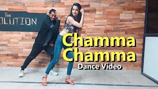 Chamma Chamma Dance Video #Dancecover | Mahaveer Singh Choreography | Elli Avrram Arshad Neha Kakkar