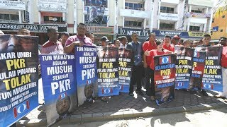 PKR grassroots members offended by use of party logo by Mahathir plan sabotage in Langkawi
