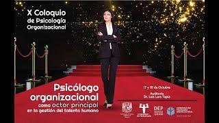 X Coloquio: El psicólogo organizacional como actor principal en la gestión del talento humano - C2