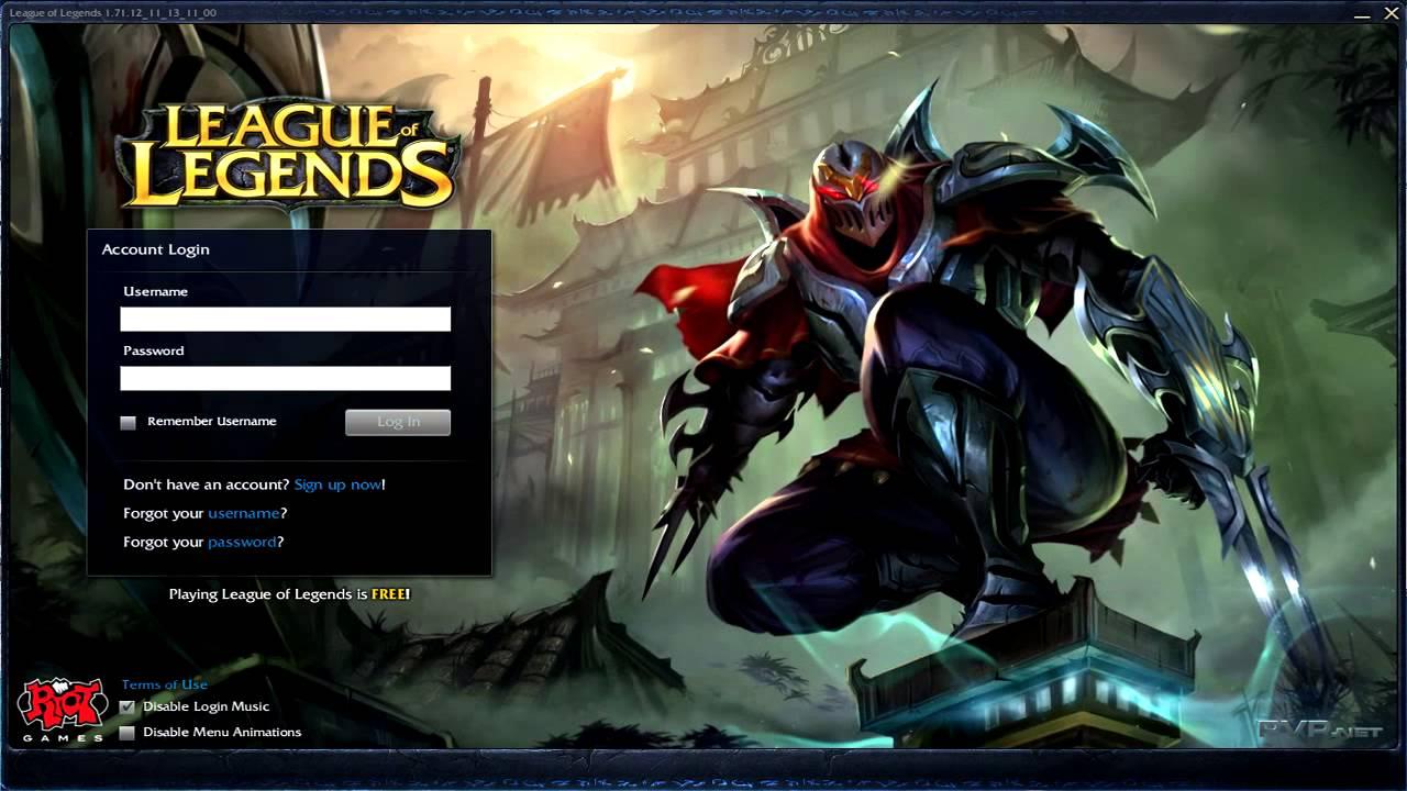 league of legends zed login music youtube