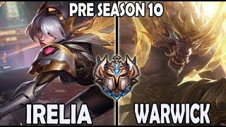 Irelia vs Warwick TOP [ SKT T1 Roach ] Lol Challenger Korea * 9.23 *