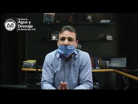 Mensaje importante del Director de Agua y Drenaje de Monterrey, respecto a mensajes y audios falsos.