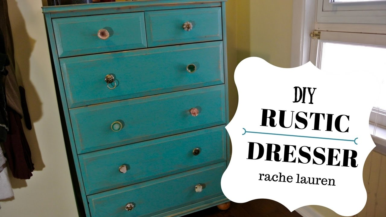 Diy Rustic Dresser Rachelauren