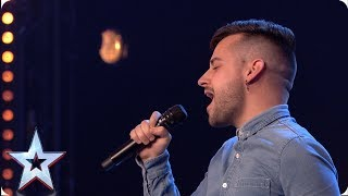Rob King rises like a phoenix with West End worthy performance  | Auditions | BGT 2019