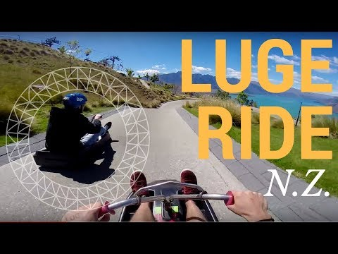 High Speed Luge in HD! Queenstown New Zealand! GoPro POV