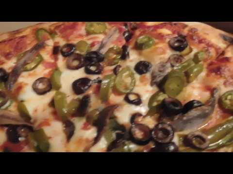 Jalapeno & Black Olive Pizza