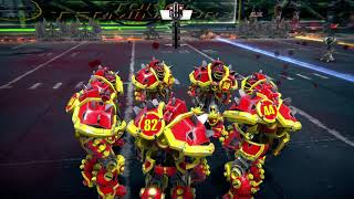 Mutant football league gameplay kill the ref play reinjuring players on the field