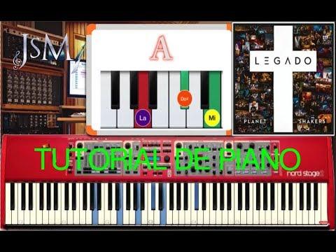 Tutorial de PIANO Me Llamas Hermosa - Planetshakers - Álbum Legado   You Call Me Beautiful