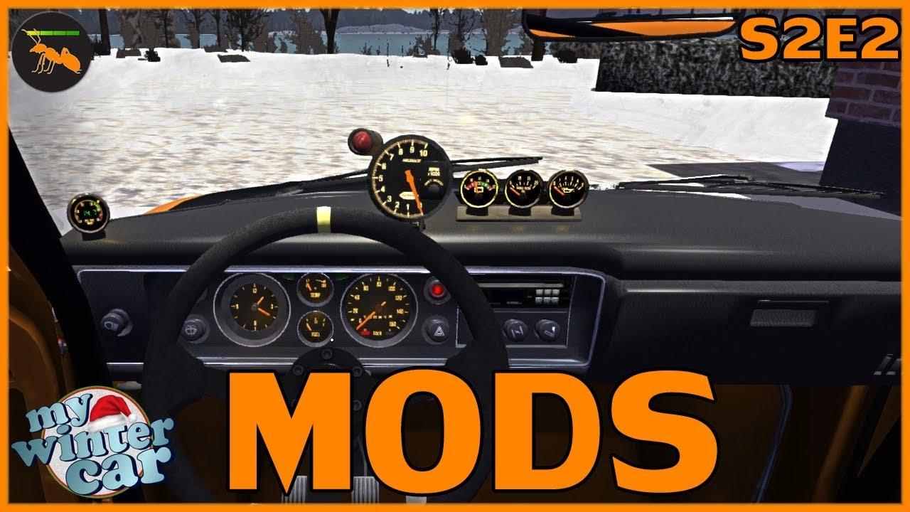 INSTALLING MODS IN MSC (MSC LOADER, MY WINTER CAR, COLORFUL GAUGES) - My  Summer Car - S02E02