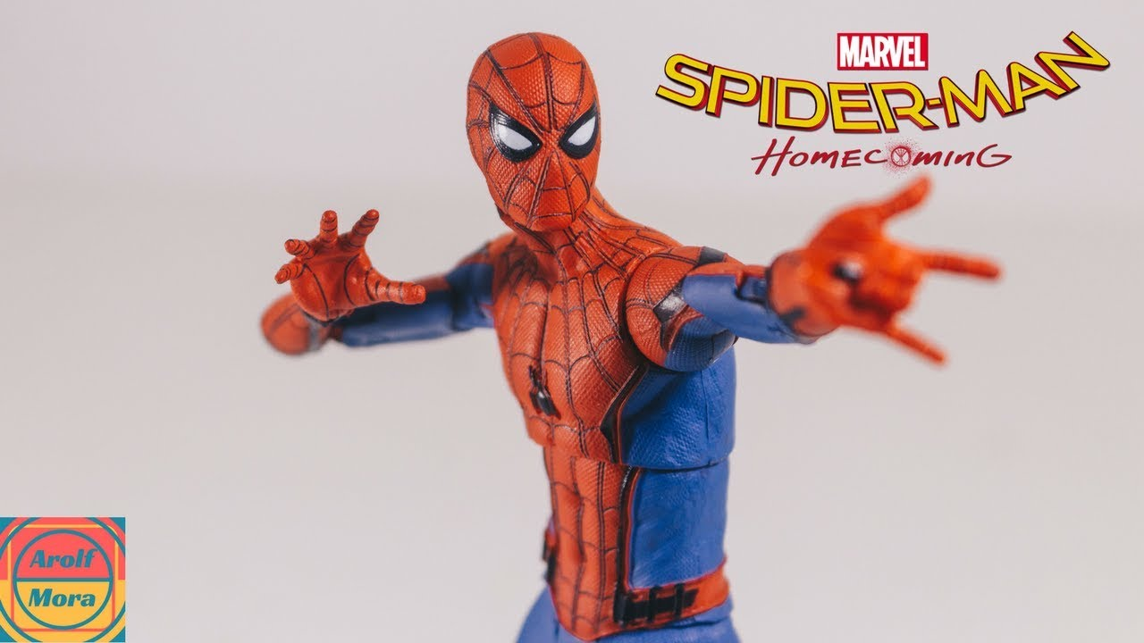 Marvel Select Spider-Man Homecoming: SPIDER-MAN Review ...