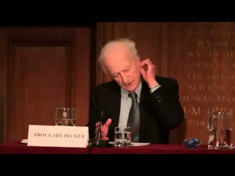 "Prof Gary Becker - ""The Challenge of Immigration: A Radical Solution"""
