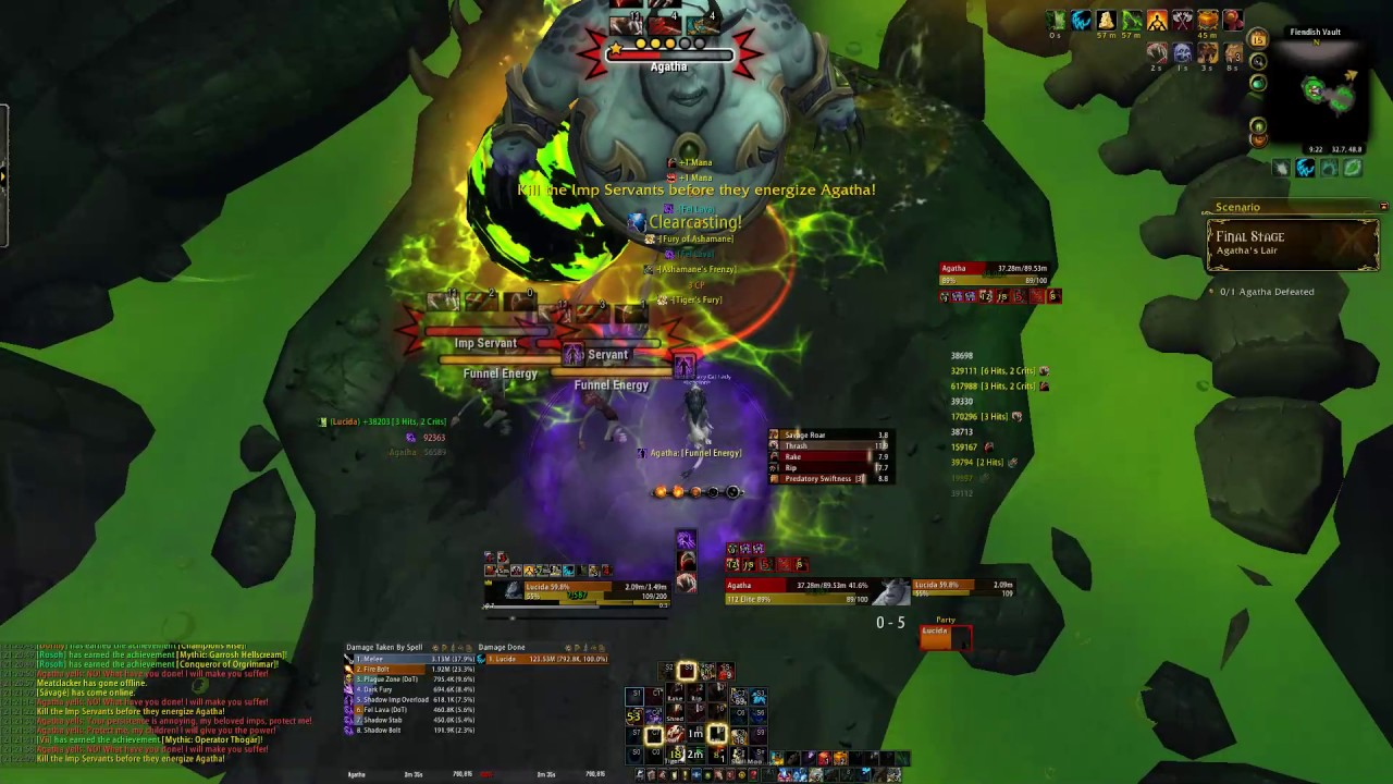 899 Feral 7 2 Mage Tower (Without Luffas) [Tips in Description