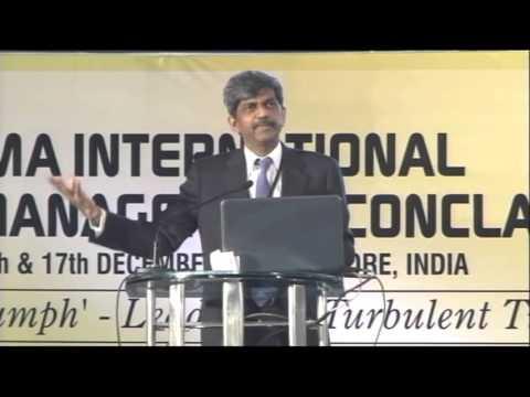 IMA International Management Conclave (2011) - Mr. D. K. Shivakumar (Indian Politician)