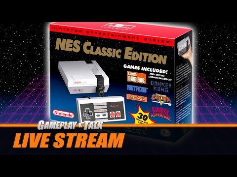 Gameplay and Talk  Stream - The NES Classic Edition variety stream