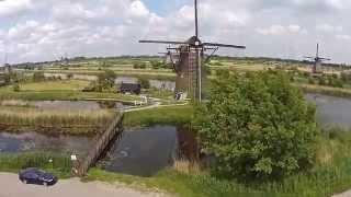 Kinderdijk by Drone